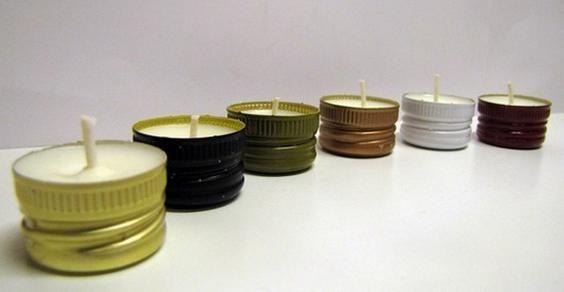 Candele vegetali cera soia - Soy-wax handmade candles, cruelty-free
