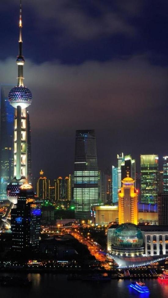 Shanghai, China, Asian, Geography, Economy, City, Tower