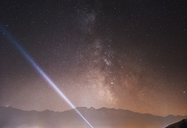Droga Mleczna nad Zakopanem