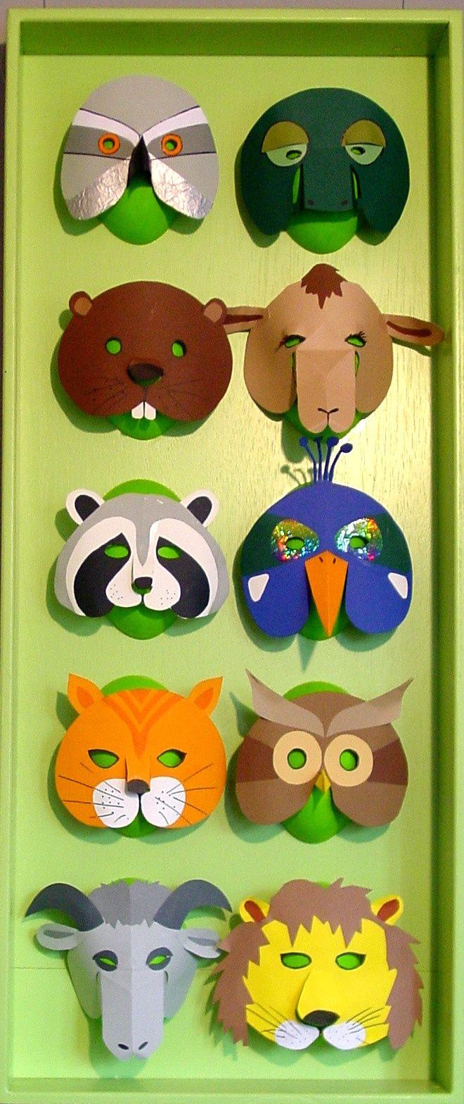 Laboratori per bambini maschere di carnevale 4