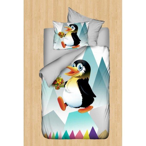 Penguin Bebek Nevresim Takımı