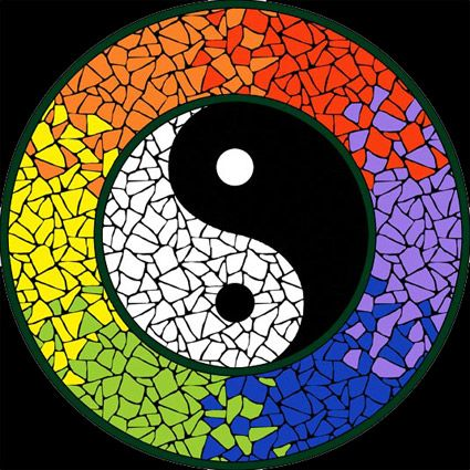 Yin & Yang.....So Pretty                                                                                                                                                      Más