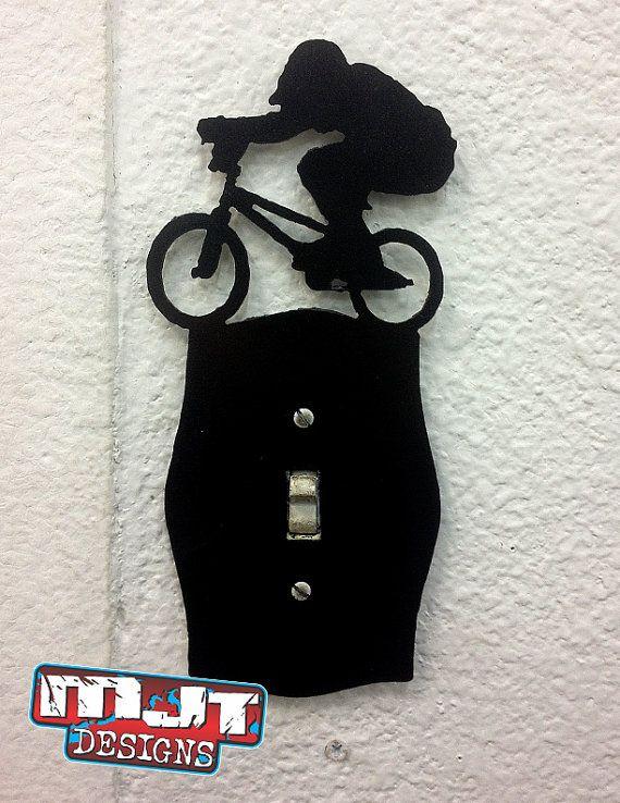 BMX light switch plate