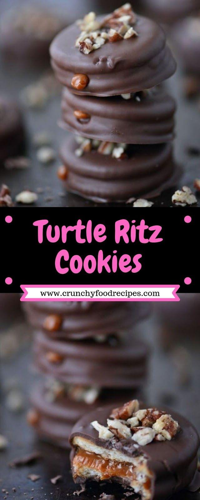 Turtle Ritz Cookies