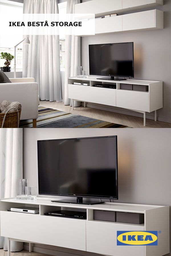 Living Room Storage Made Personal With The High Quality IKEA BEST Solution That Can Be