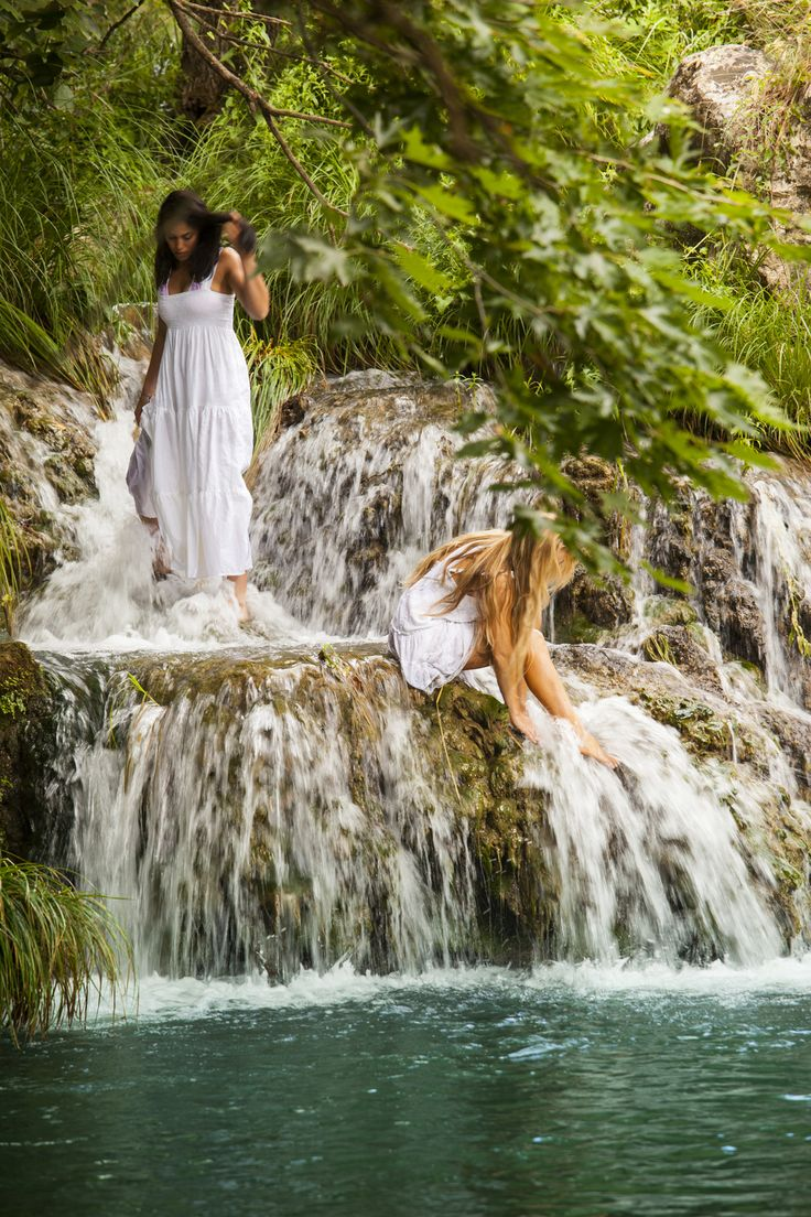 Be a Greek Nymphe...Nymphs were female godesses, always depicted as beautiful young maidens living in nature.