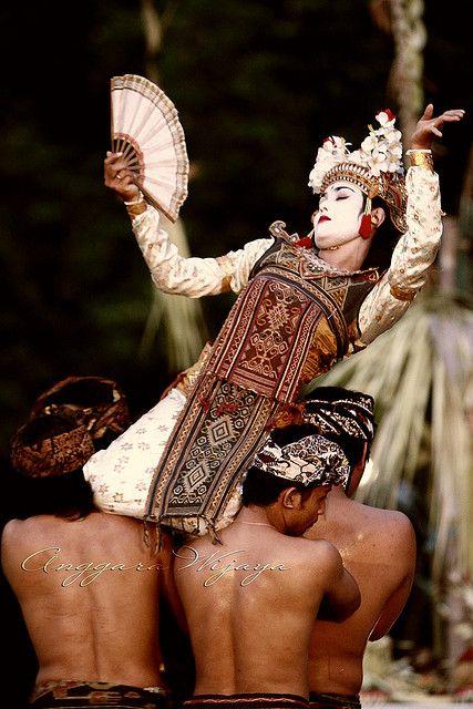 Ritual dance in Bali Indonesia