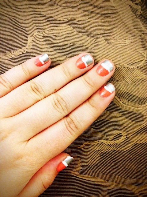 As usual, Laura's nails are a sight to be seen!: Color Blocking, Colorblock Manicure, Art Design, Lauras Nails, Beauty Nails, Creative Nails, Laura S Nails, Diy Nails