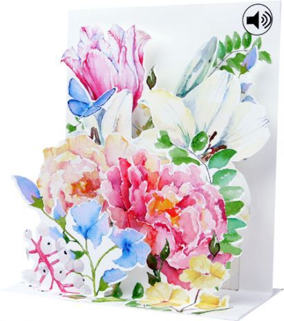 Up With Paper :: SS058 Watercolor Bouquet