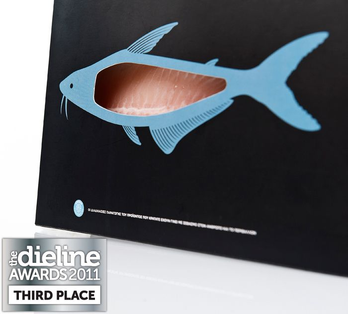 I'm not big on sea food, but this is pretty cool. Check out the rest of the Trata onIce products. The packaging is great.