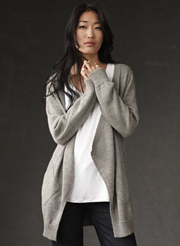 Eileen Fisher - could live in an outfit like this!