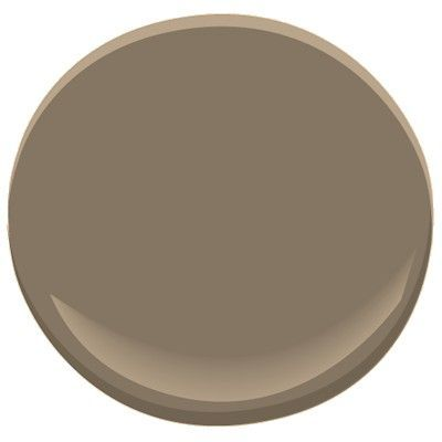 MASTER? Rustic Taupe by Benjamin Moore - maybe the color for my bedroom. Taupe is such a hard color.