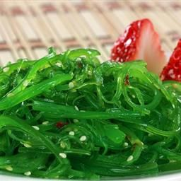 Goma Wakame its the kind of seaweed salad you would get in Japanese Restaurant, its packed with anti-oxidants as well as fiber and it is low calories, great for you. 1 Cup is about 140 Calories.