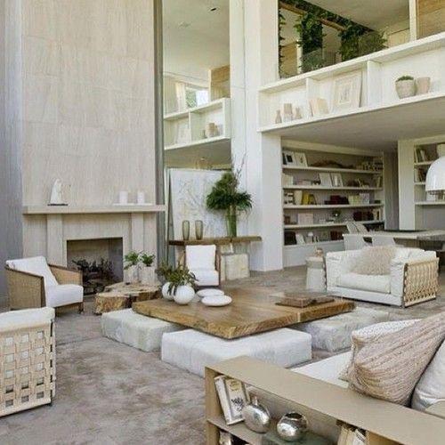 Lovely netral modern #decor!