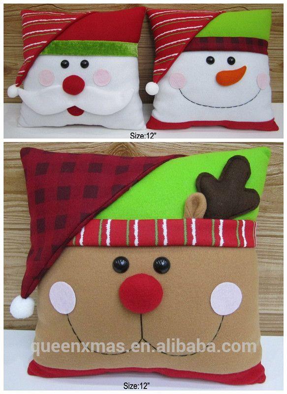 30 CM de Navidad de Interior Cojines Decorativos-imagen-Suministros de Decoración de Navidad -Identificación del producto:757605802-spanish.alibaba.com