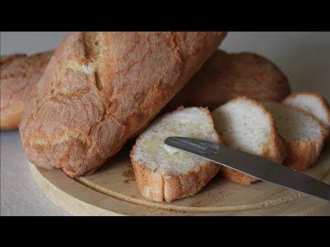 Receita - Pão Francês sem gluten