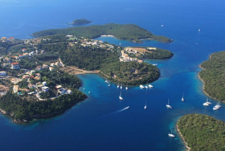 Pristine beaches, lagoons, blue water, dreamlike landscapes. Welcome to #Corfu Island, #Greece. Visit picturesque #Sivota village and take a swim on the Blue Lagoon #Beach