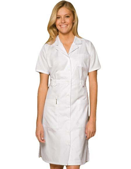 Style Code: (DI-84500) Be stylish with this nurse scrub top from Dickies Uniforms. This is designed in a classic missy fit that features an eight-button closure, short sleeves and side vents for ease of movement. There are two spacious lower patch pockets and a chest pocket for easy storage of tools and personal items.