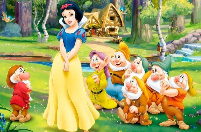 Blancanieves Y Los 7 Enanitos Aurora Sleeping Beauty Disney Snow White