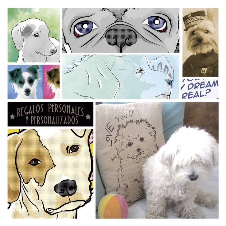 Regalos personalizados de los más peludos de la casa. Para perros y gatos (...)