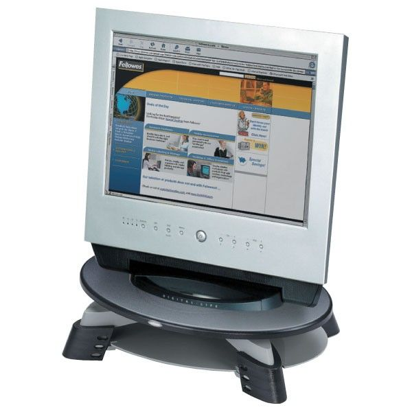 Soporte monitor con bandeja guardapapeles | Diacash