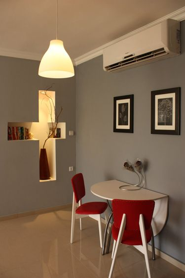 desire to inspire - desiretoinspire.net - Incredible ideas - love the use of colour - you have to go and check this out.  totally renovated apartment.  particularly LOVE the clock(s) on the wall idea!  Brilliant!