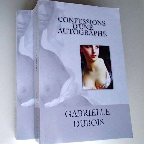 Le nouveau roman de Gabrielle Dubois vient de paraître. Lisez le premier chapitre en lecture gratuite sur le site ! Les confessions d'une autographe, un roman de Gabrielle Dubois.