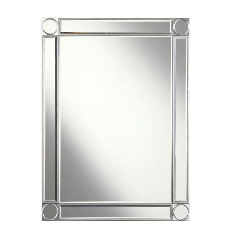 mirror 40 x 60. audrey silver 30x40 inch rectangle mirror - $325 40 x 60