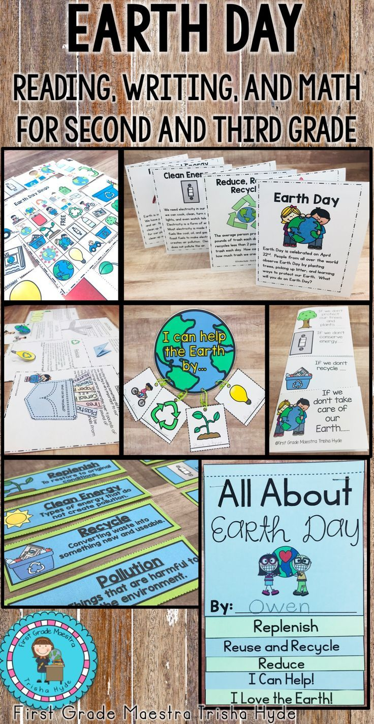 Earth Day Unit With Images Recycling Lessons Earth Day