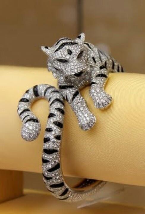 Black Diamond Cuff Bracelet