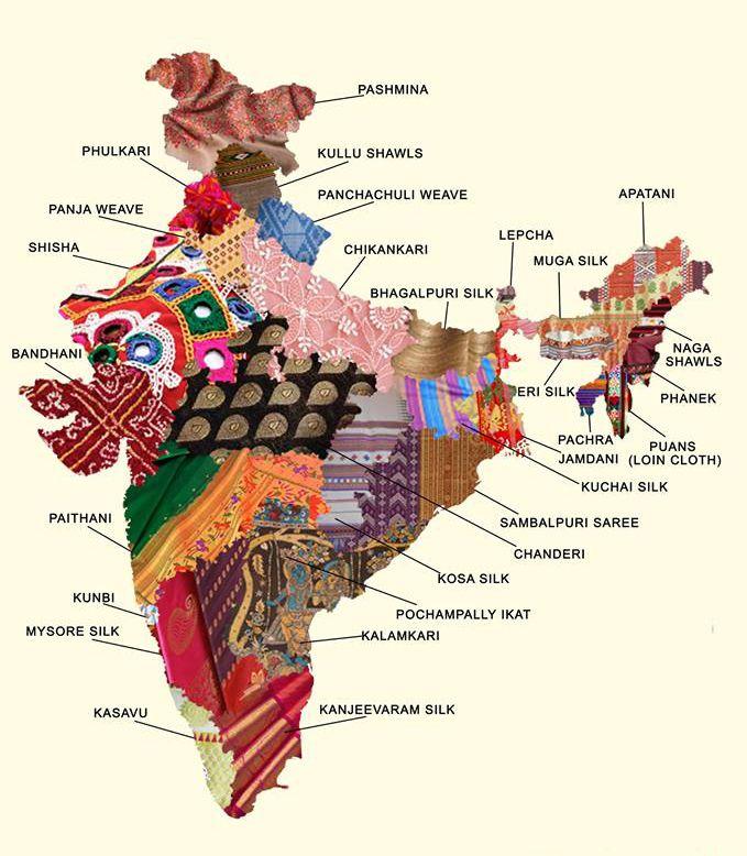 #Ethnicweaves proficiency wise #states of #India! #Shatika #Onlineshopping #Handloomsarees
