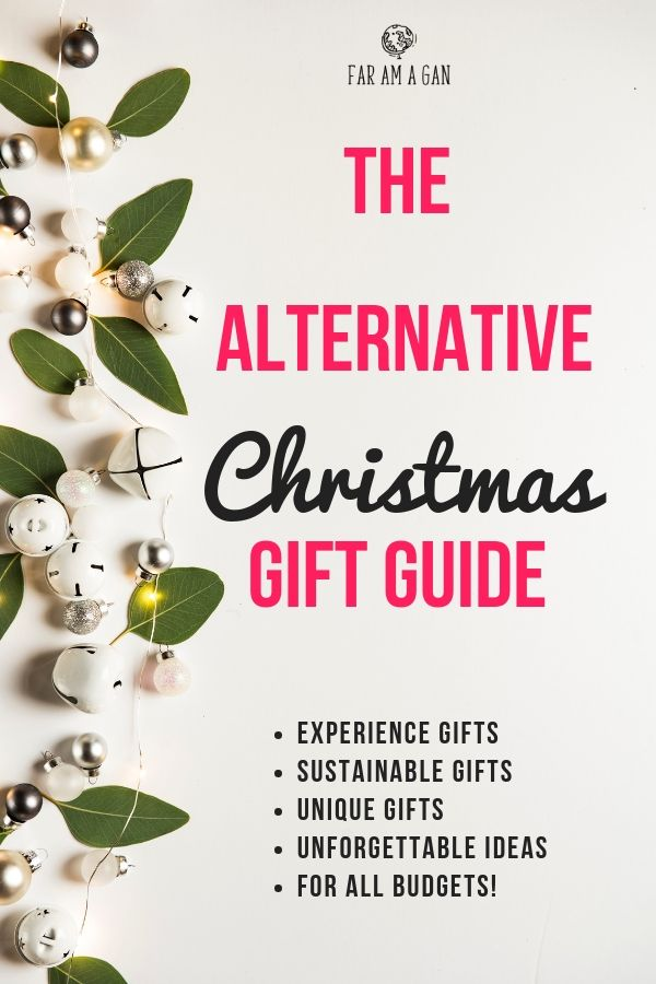 Alternative Christmas gift ideas including experiences, sustainable gifts, charity  Christmas gifts and more! - Alternative Christmas Gift Ideas Including Experiences, Sustainable