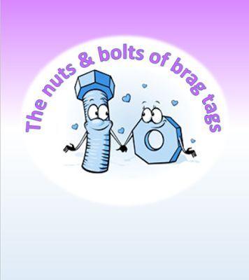 Itsabouttimeteachers: Brag Tag Nuts & Bolts