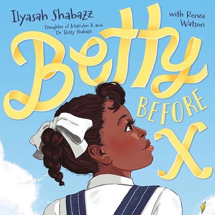 There are so many brilliant books being released this month and this is one of them. Betty Before X is the story of the early life of Dr. Betty Shabazz civil rights leader and wife of Malcolm X written by their daughter: community organizer social activist and award-winning author @ilyasahshabazz with @harlemportland. This is a middle grade novel about Shabazzs social justice and activism roots for ages 10-14. It will be out tomorrow and is available for preorder now. .  #Repost…