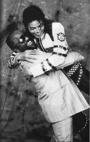 Michael Jackson and Berry Gordy.