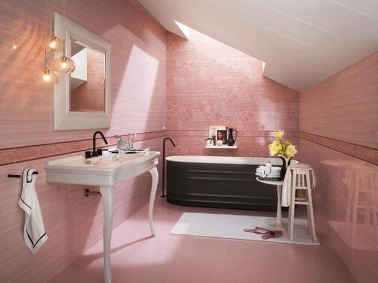 311 best Pink Bathrooms images on Pinterest | Bathroom, Pink ...