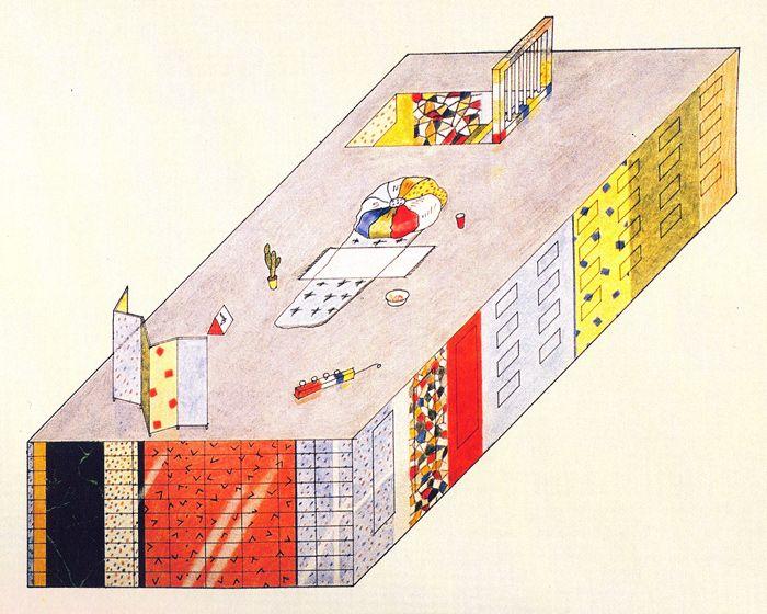 'La Superficie Neutra' -Archizoom,1972.