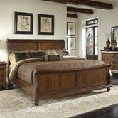 Found it at Wayfair - Rustic Traditions Sleigh Bed