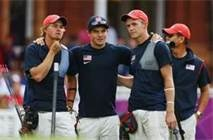 Men's Archery - Teams: USA wins Silver!