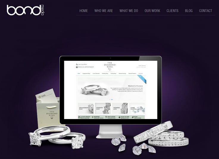 THE DIAMOND RING COMPANY ~ The Diamond Ring Company had been using their Magento Development since they started selling online, all had been fine until their business needs increased. As with every e-commerce business as your business grows your e-commerce management requirements grow also and need to be optimised for efficiency.