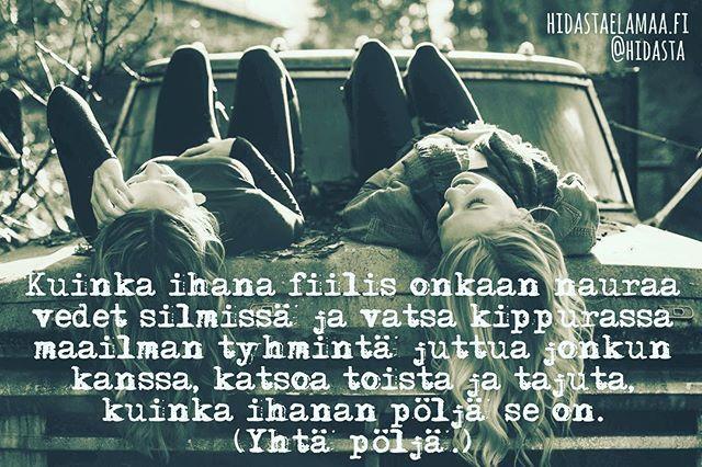 Onko sun elämässä tällainen ihana pöljä? ❤️ #nauru #pöljä #ihana #ystävyys #rakkaus #samataajuus
