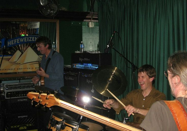 Allan Holdsworth, Chad Wackerman, and Jimmy Johnson, Huntington Beach, California, 4 November 2006.