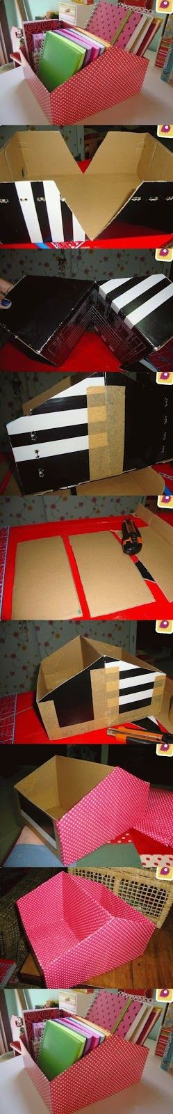 Be Amaze with these DIY IDEAS: Shoe Box
