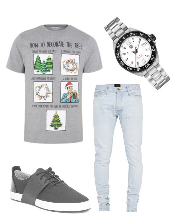 Paul's Christmas Outfit by mikeracampbell on Polyvore featuring #TagHeuer #Formual1 #SportsWatch from #JRDunn