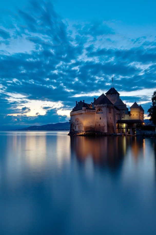 "Chillon Castel - Montreux - Switzerland Maybe I should've named this board ""Places I'd Like to Go... back."