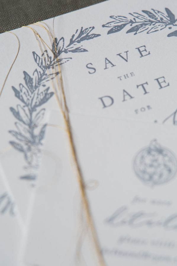 The Collection from Brown Linen Design via oncewed.com