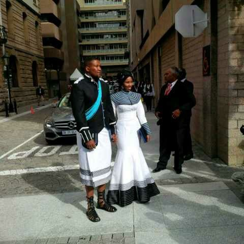 Nkosazana Nodiyala and Nkosi Zwelivelile Mandela SONA15.
