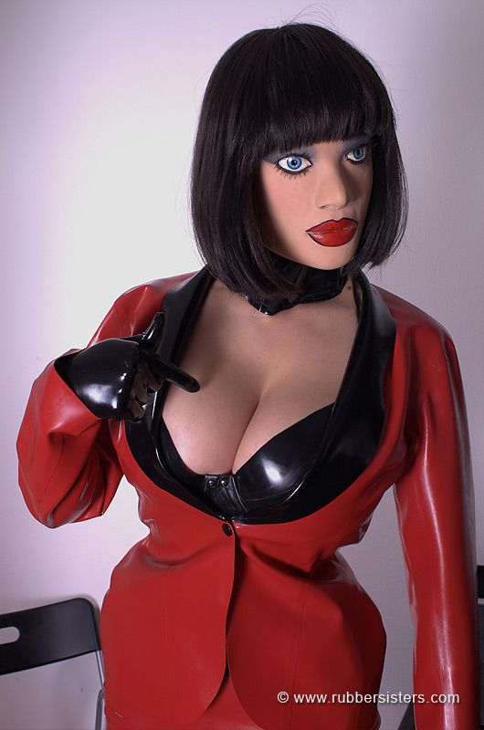 Shit hot crossdressers in latex and amazing not