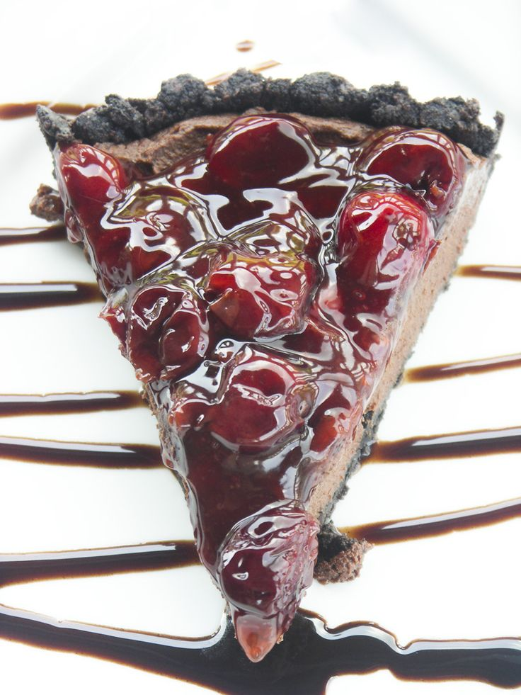 Black Forest Truffle Tart   Use the Black Cherry Pie Filling recipe from the canning file