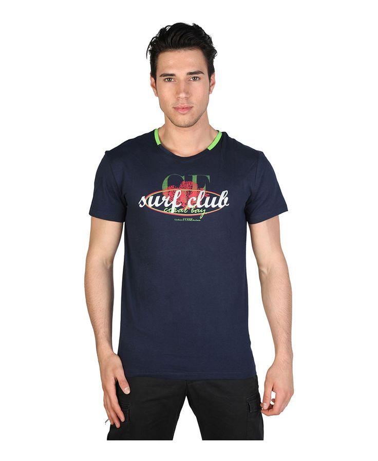 T-shirt ferre - t-shirt da uomo - maniche corte - composizione: 90% cotone, 10% viscosa - lavare a 30°c - T-shirt uomo Blu